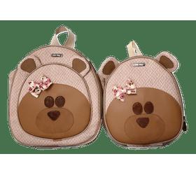 Kit-Mochila-Infantil-Bichos-Urso-Rosa-e-Lancheira-Infantil-Urso-Rosa
